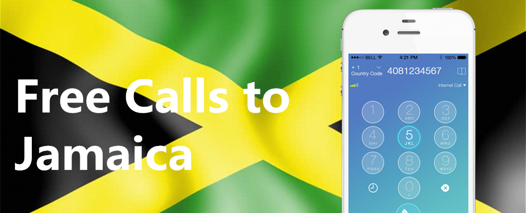 Free international Calls to Mobiles in Jamaica, Call Jamaica