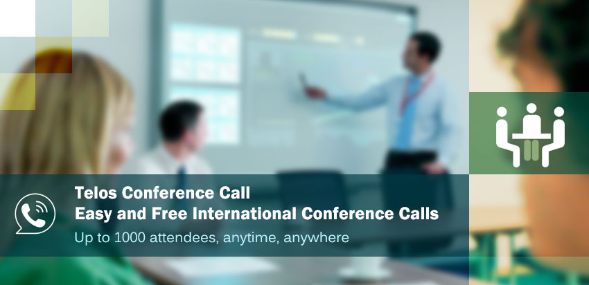 conference calls with telos